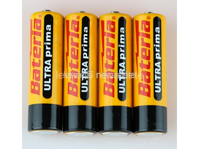 Baterie Ultra Prima AA 4 ks