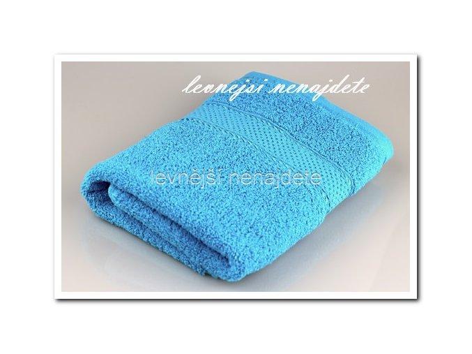 Froté ručník azurový 40 x 90 cm