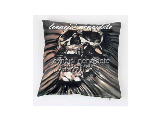 Povlak na polštářek s motivem 3D MORBIT 45 x 45 cm
