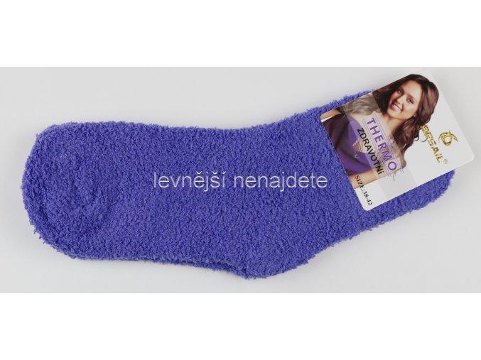 Dámské termo chlupaté ponožky
