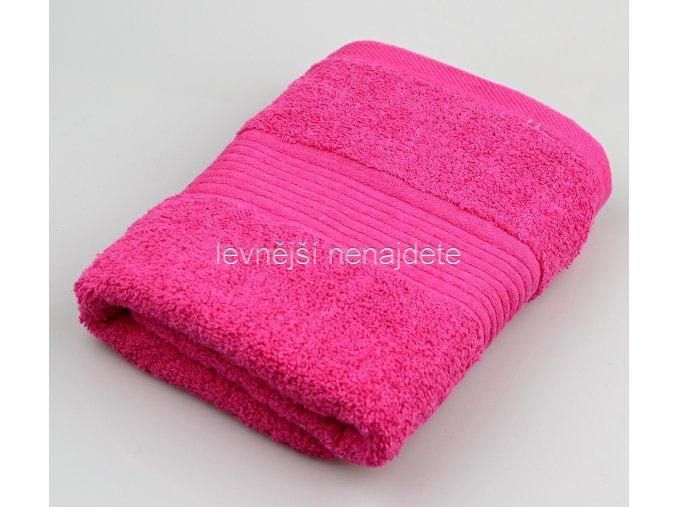 Froté ručník jahodový 40 x 90 cm