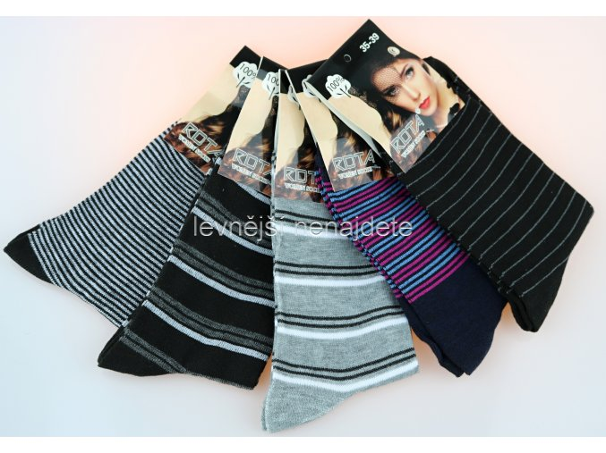 Dámské ponožky prou 5 kusů