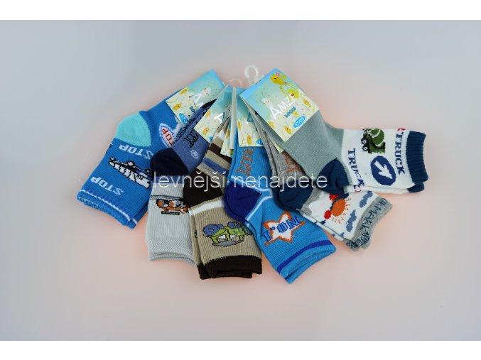 Chlapecké bavlněné ponožky AM 3 páry