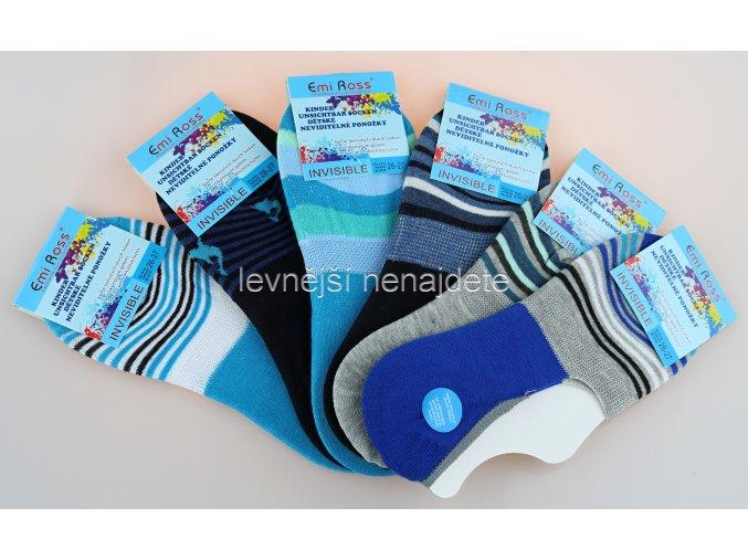 Chlapecké krátké ponožky