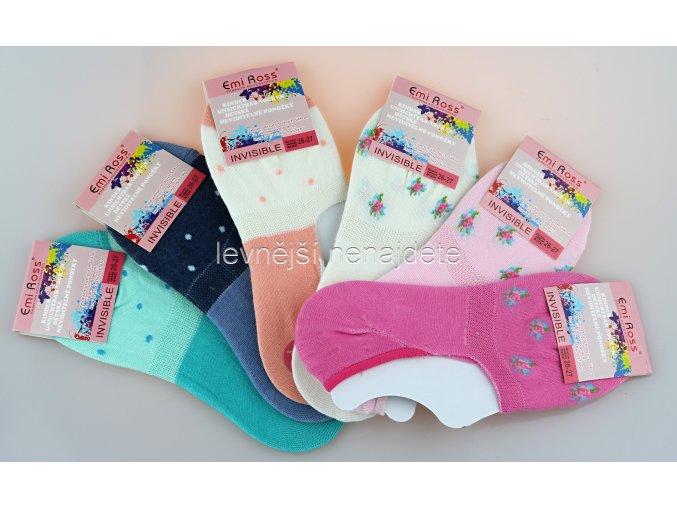Dívčí krátké ponožky