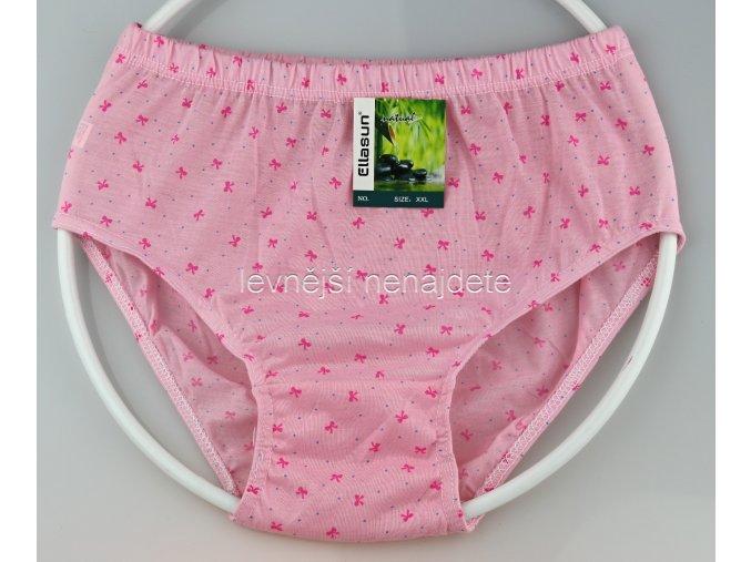 Bambusové kalhotky kytička růžové