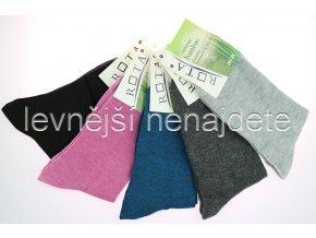 Dámské bambusové ponožky barev 5 párů