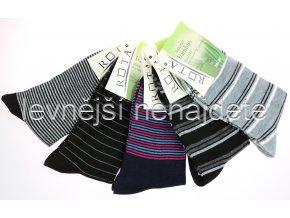 Dámské bambusové ponožky vzory 5 párů