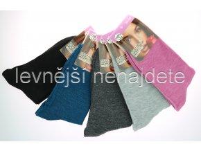 Dámské ponožky barev 5 kusů