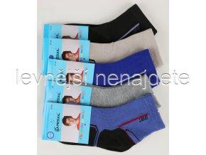 Chlapecké bavlněné ponožky QM 3 páry
