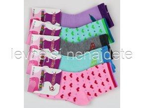 Dívčí bavlněné ponožky QW 3 páry