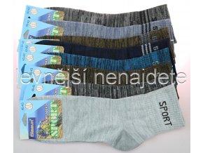 Pánské bavlněné ponožky sports melír 3 páry