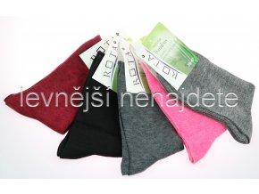 Dámské bambusové ponožky CZ 5 párů