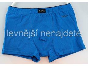 Bavlněné boxerky modré