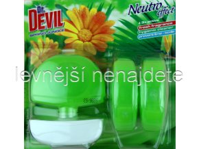 Dr. Devil tekutý WC blok SPRING 3 x 55 ml