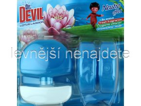 Dr. Devil tekutý WC blok LOTUS 3 x 55 ml