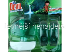 Dr. Devil tekutý WC blok NATUR 3 x 55 ml