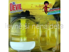 Dr. Devil tekutý WC blok LEMON 3 x 55 ml