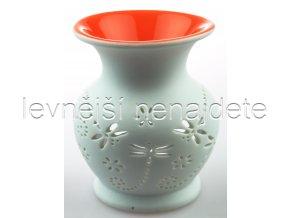 Keramická aroma lampa oranžová