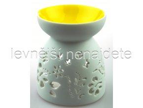 Keramická aroma lampa žlutá