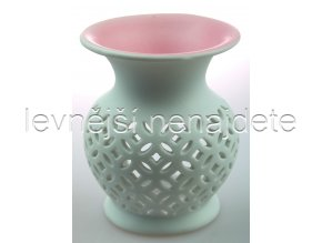 Keramická aroma lampa růžová