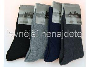 Pánské bavlněné termo ponožky HM