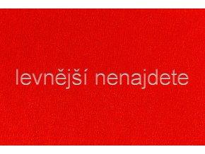 Froté prostěradlo červené 90x200 cm