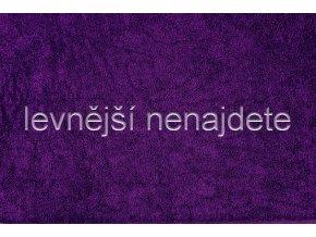 Froté prostěradlo tmavě fialové 180x200 cm