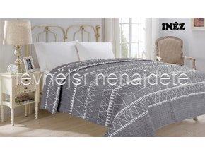 Přehoz na postel dvoulůžko INEZ 220 x 240 cm