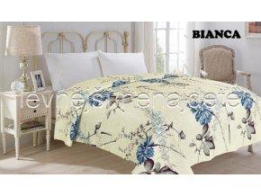 Přehoz na postel dvoulůžko BIANCA 220 x 240 cm