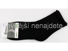 Dámské zdravotní bavlněné ponožky černé