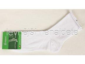 Pánské zdravotní ponožky bílé