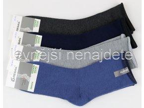 Pánské bavlněné zdravotní ponožky bar 3 páry