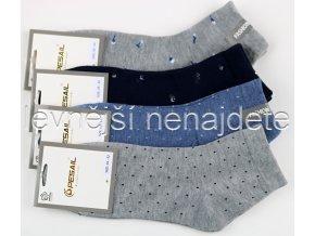 Dámské bavlněné ponožky pun 3 páry