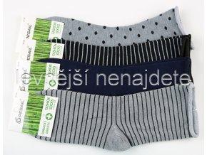Dámské bambusové zdravotní ponožky vzor 3 páry