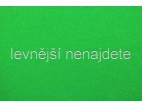 Jersey prostěradlo hráškově zelené  90x200 cm
