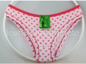 Bambusové kalhotky puntík růžový