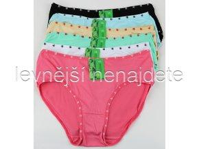 Bambusové kalhotky klasické barevné 3 kusy