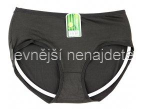 Bambusové kalhotky klasické černé