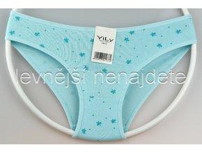 Bavlněné kalhotky Y1W modré