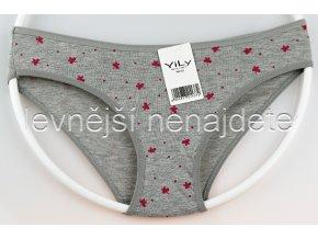 Bavlněné kalhotky Y1W šedé