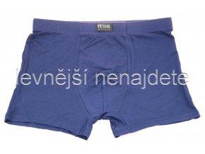 Bambusové boxerky nadměrné kobaltová modrá