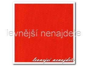 Jersey prostěradlo oranžové 140x200 cm
