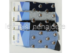 Pánské bavlněné ponožky pivo
