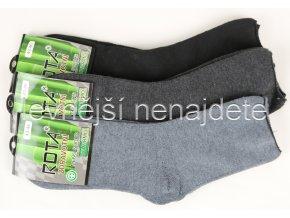 Pánské zdravotní bambusové termo ponožky 3 páry