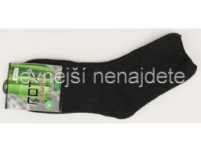 Pánské zdravotní termo ponožky černé