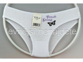 Bavlněné kalhotky Y33W bílé