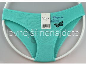 Bavlněné kalhotky Y33W zelené