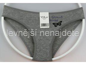 Bavlněné kalhotky Y33W šedé