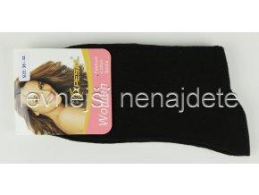 Dámské ponožky černé
